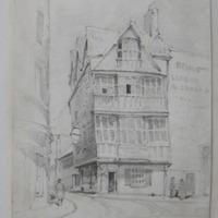 old House in Bristol. Fourteen stars tavern