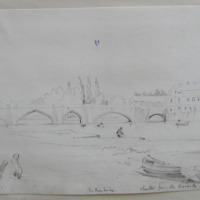 Chester from the Baracks; the Hambridge; August 11th 1845