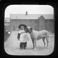 Child and Dog, Dublin, Co. Dublin