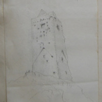 Raheen Castle, Castle Townsend, looking N.E.; 30 Sep 1853