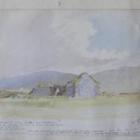 View of Dunurlin old church Co. Kerry. Sheet 42.1. near Ballyferriter