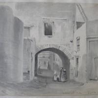Audoens arch, Dublin. August 20. 1841