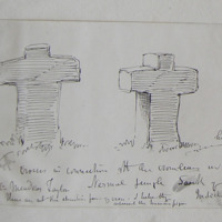 Crosses in connection with the ?Crimean in the Nermal jungle Sack of Nagpour. India 19 March 1867. Col: Meadros Taylor