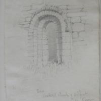 Door. Ancient Church of Ardfert Co. Kerry