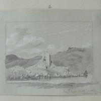 Lough Hyne Castle Co. Cork Feb 1853