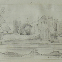 Buttevant Abbey Co.Cork. R C Chapel. April 1856