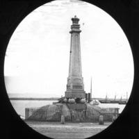 George IV Monument, Dun Laoghaire, Dublin.