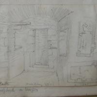 Buttermilk Castle. Ballyhack Co. Wexford [interior, plans]