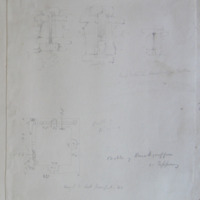 Castle of Knockgraffon Co. Tipperary. Loops, Plan. Height to papapet 43