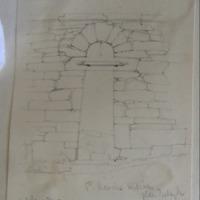 St Kevin's Kitchen Glendalough. October 1842