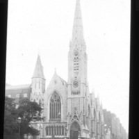 View of Findlater's Church, Parnell Square, Dublin.