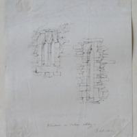 Windows in Cahir Abbey. GD Oct 1840