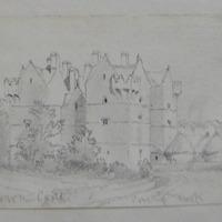 Monkstown Castle. Port of Cork 1639