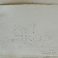 Lemenagh Castle. Castle of Limine Co. Clare.