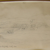 Dunbrody Abbey looking NNE. Sept 1862
