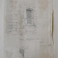 Doorway Ballyhack Castle Co. Wexford. 30th Aug 1862. Window W wall upper floor