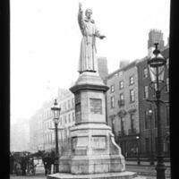 Fr. Mathew statue, O'Connell Street, Dublin.