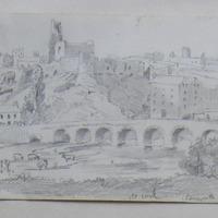 Glanworth Castle Co. Cork. 12 June 1852