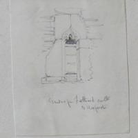 Window from Fethard Castle, Co. Wexford