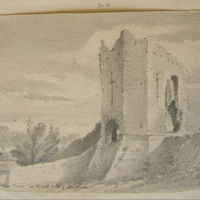 St Johns Tower on the old wall of Drogheda