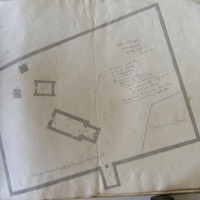 Rellig Calliagh Clonmacnoise. 4 May 1865. Geo: V du Noyer.