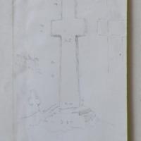 looking W.W.S. [W.S.W] Adamstown cross, Co. Wexford