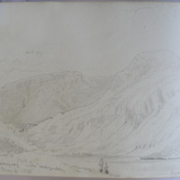 Lough Garagarry under Mangerton. May 14 1855