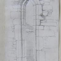 East window Castlegregory old church. Kerry. May 1857