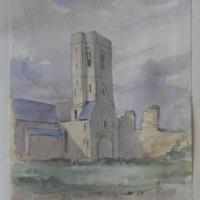 Multyfarnham Franciscan Abbey. Co. W. Meath. 24 May 1864.