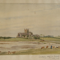Dunbrody Abbey Co. Wexford. Looking N.E.