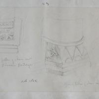Base of pillar of choir arch St Saviour's Glendalough. Oct 1842