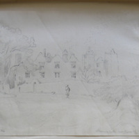Athlumney Castle near Navan  [?, Newan] the former ? Of the Dowdall familyOct. 19th 1844
