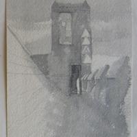 Turret. Cahir Castle
