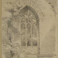 East window Rathmore Abbey Co. Meath. June 1859