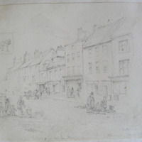 The house in which Lawrence Storme was born. Clonmel. Oct 18 1840