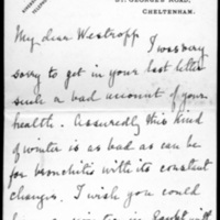 Letter from H. T. Knox to Thomas J. Westropp, 2 June, 1918