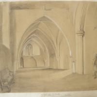 St Patricks-S.Aisle. Dublin. Feb 1842