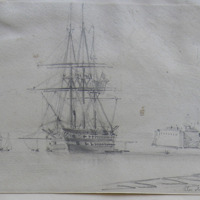 the old a jax, Kingstown March 1863