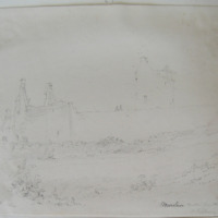 Moorstown Castle from the SE Co. Tipperary, Sept 1840
