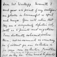Letter from H. T. Knox to Thomas J. Westropp, 24 July, 1901