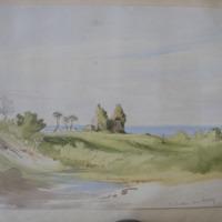 Co. Dublin near Delgany; Rathdown old church; May 25-1843