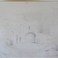 Gate at Kilmallock Co. Limerick. Geo V Du Noyer