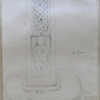 Old church of Killary Co. Meath Sheet 12/2. N face