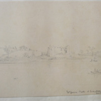McGuires Castle at Enniskillen, guarding the rapids to the Town; Aug 1841