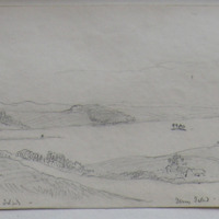 Lough Lene from the Fort of Turgesius Monks Island. 30 April 64