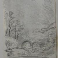 old Bridge under Torc Waterfall; May 1855
