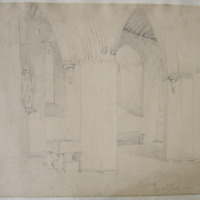 The Font, Saint Patricks Cathedral, Dublin; Feb 11. 1842