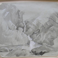 Devils Glen Waterfall. Sep 42