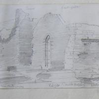 Castlegregory Church, near Castlegregory Co. Kerry. East gable