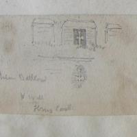Interior Battlement W wall Ferns Castle